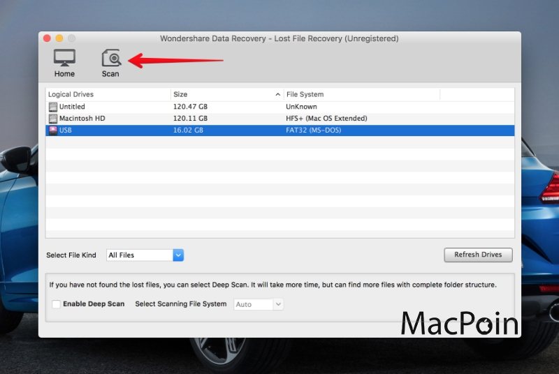 Wondershare Data Recovery untuk Mac (Review)