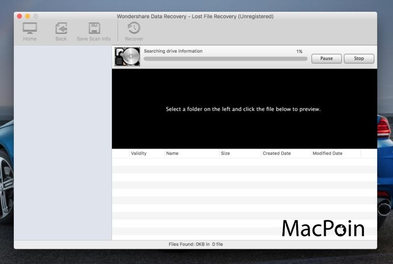 Wondershare Data Recovery untuk Mac (Review)
