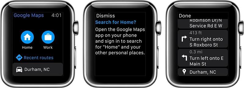 Dukungan Google Maps, Amazon, dan Ebay di Apple Watch Dihentikan?