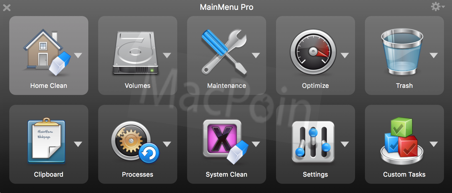 MainMenu Pro, Alternatif Aplikasi Maintenance Mac