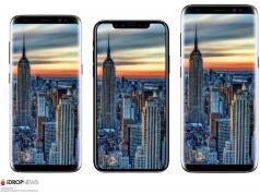 Seperti Inikah Dimensi iPhone 8 vs iPhone 7 vs Galaxy S8?
