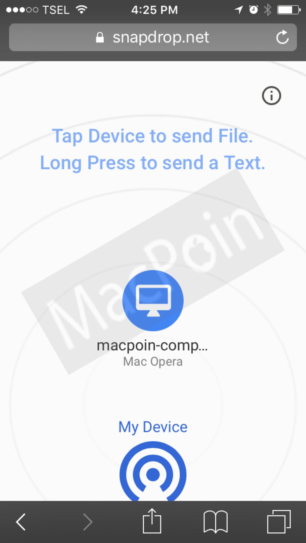 Cara Kirim dan Transfer File Menggunakan Snapdrop