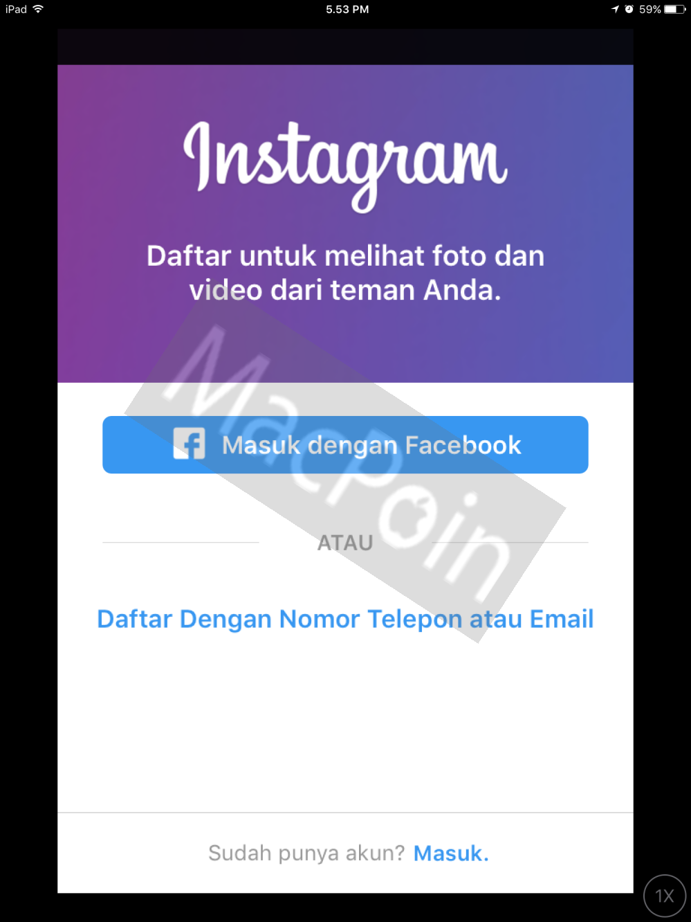 Tutorial Cara Download dan Install Instagram ke iPad