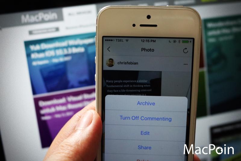 Instagram Merilis Fitur Archive Post Untuk iPhone