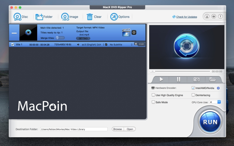 Ripping DVD dengan Cepat dan Mudah Menggunakan MacX DVD Ripper Pro