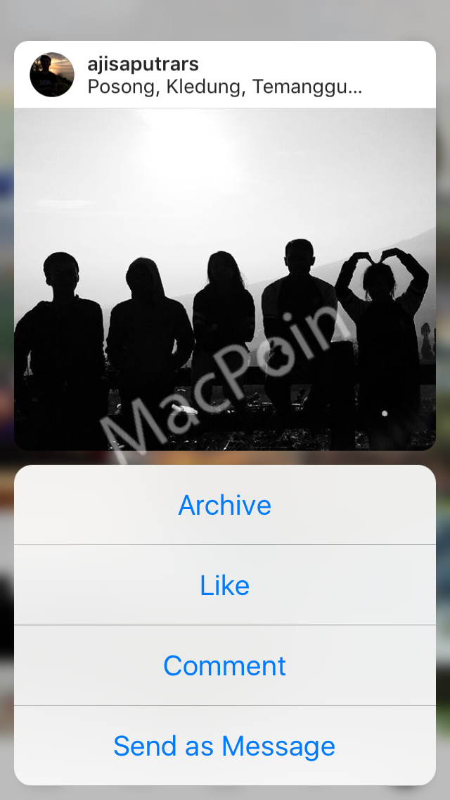 Tutorial Cara Archive Foto dan Video di Instagram
