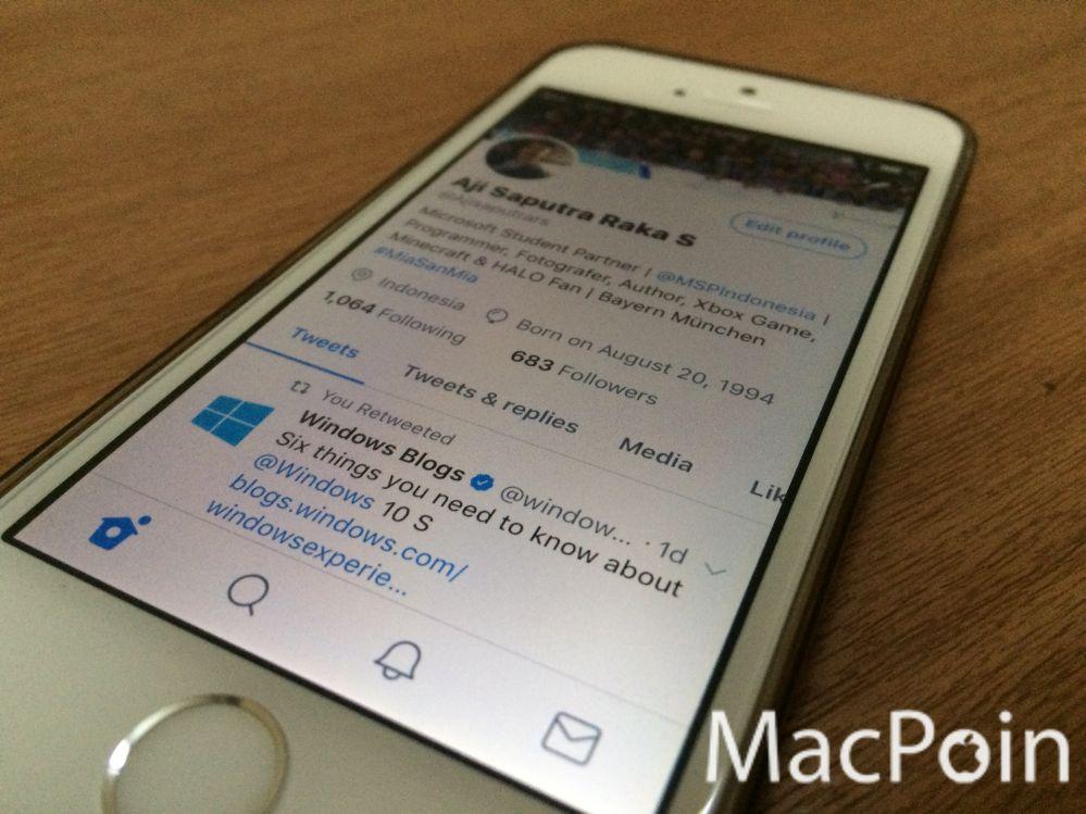 Seperti Inilah Tampilan Baru Aplikasi Twitter for iOS