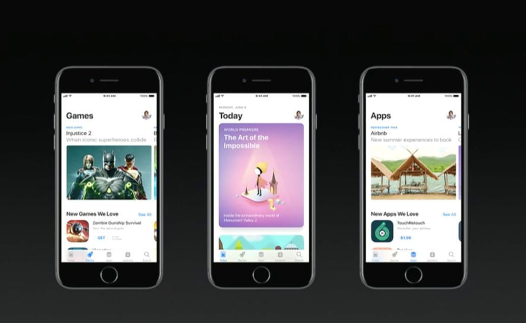 Seperti Inilah Tampilan Baru App Store di iOS 11