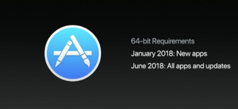 Apple Paksa Aplikasi Mac App Store Harus Support 64-bit