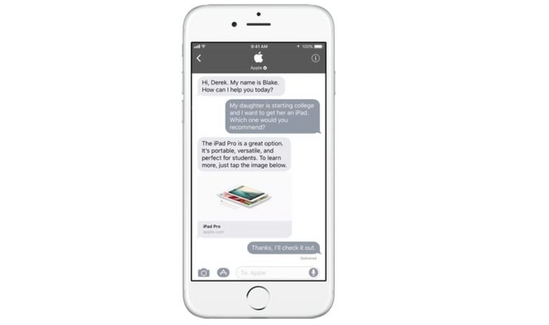 Conversocial Rilis Fitur Apple Business Chat