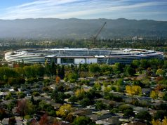 Video Keren Pembangunan Apple Park dari Citra Satelit