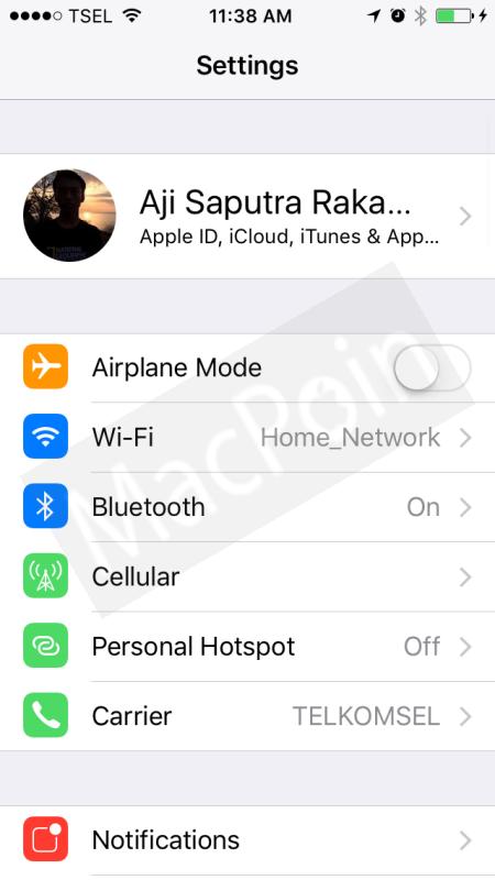 Cara Menonaktifkan Paket Data Seluler di iPhone
