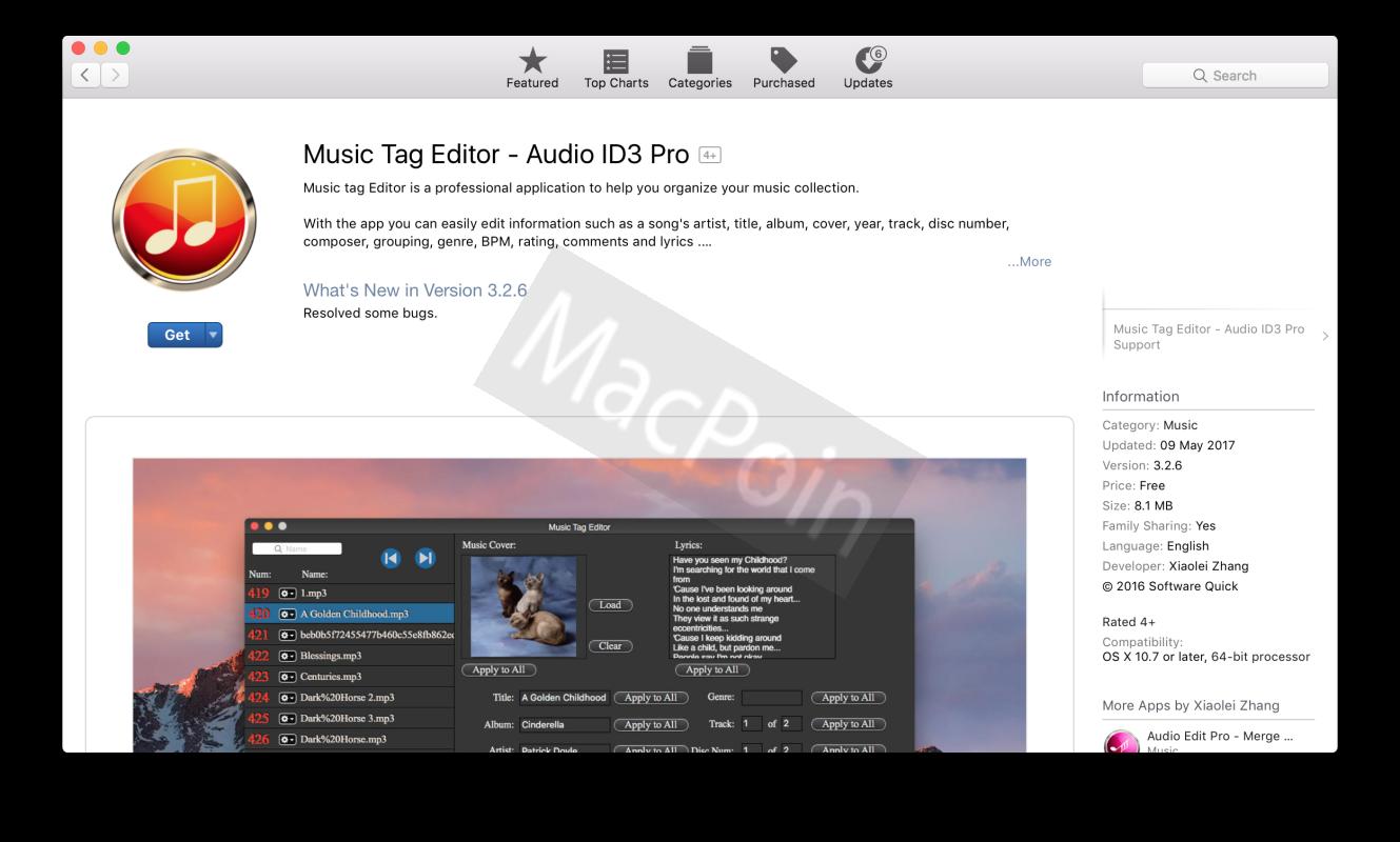 Download Gratis Music Tag Editor for Mac Berbatas Waktu