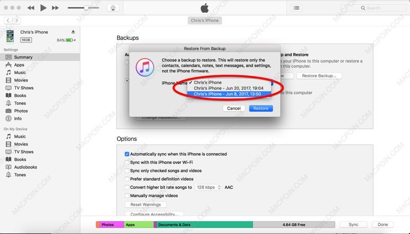 Cara Downgrade iOS Beta ke Versi iOS Semula