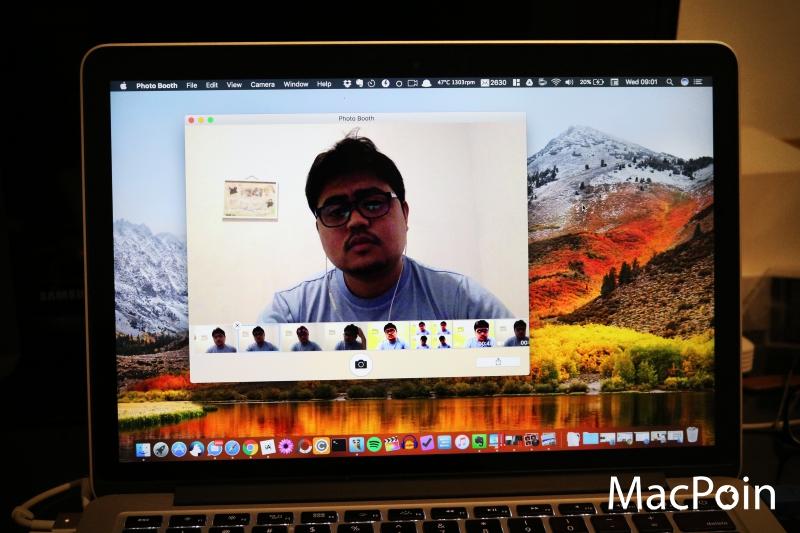 Cara Mengambil Foto Selfie di MacBook