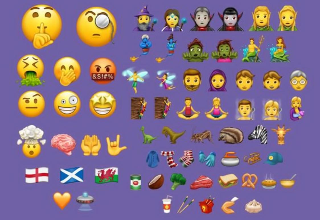 iOS 11 Akan Hadir Dengan 56 Emoji Baru Unicode 10