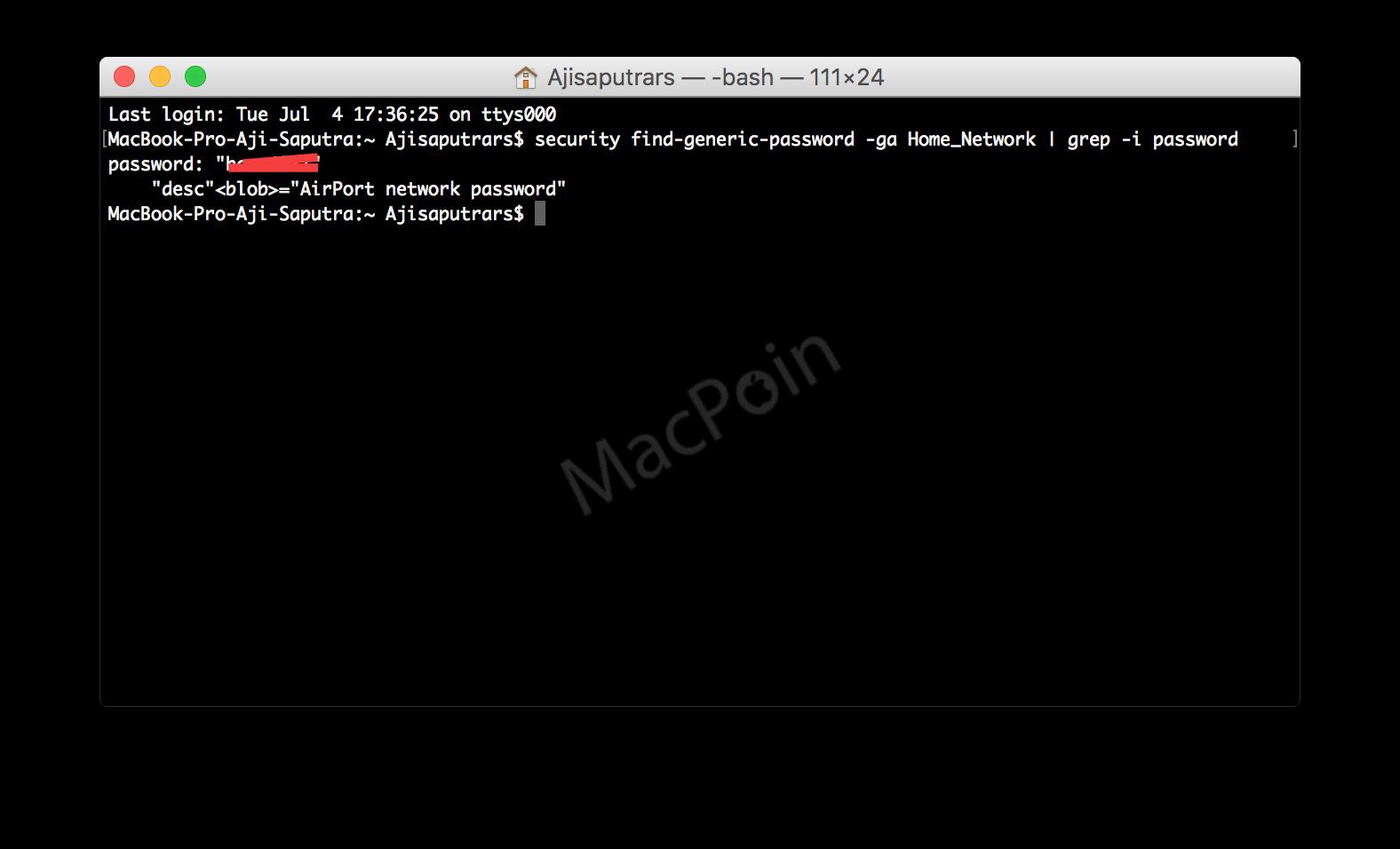 Cara Melihat Password Wi-Fi di Komputer Dengan Terminal