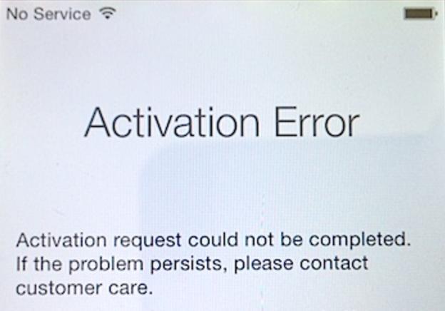 Cara Mengatasi iPhone Error Tidak Bisa Aktivasi
