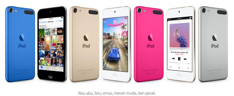 iPod Touch Sekarang Hadir dengan Harga Jauh Lebih Murah