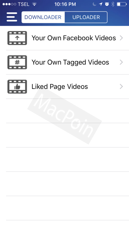 Cara Mudah Download Video Facebook Dari iPhone