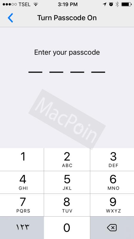 Cara Mengunci Aplikasi BBM di iPhone dengan Passcode