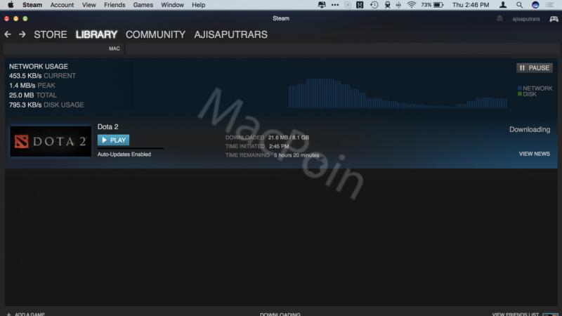 Tutorial Mudah Cara Install Dota 2 di Mac dan MacBook