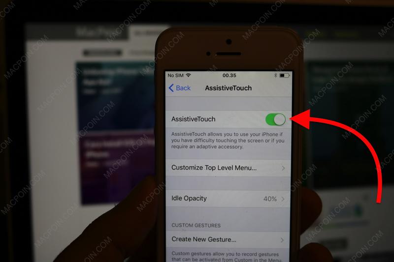 Cara Mematikan iPhone Tanpa Tombol di iOS 11