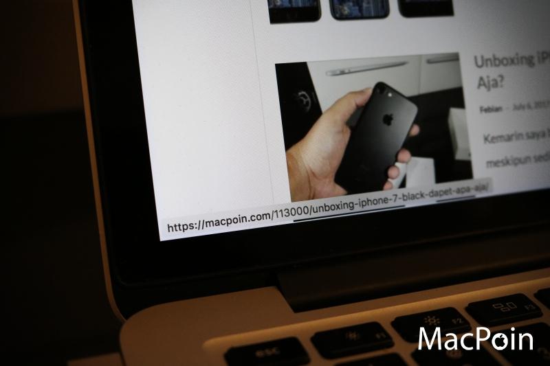 Cara Menampilkan Detail Target URL di Safari Mac