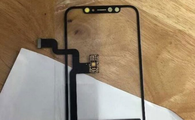 Inikah Komponen Layar, Kabel Fleksibel, dan Lightning iPhone 8?
