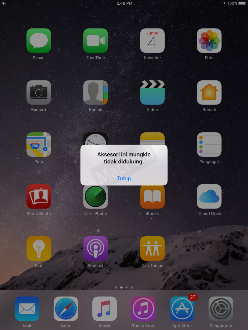 Mengatasi Charger dan Aksesoris Tidak Didukung di iPhone dan iPad