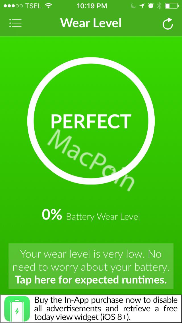 Cek Kesehatan Baterai iPhone Dengan Battery Life