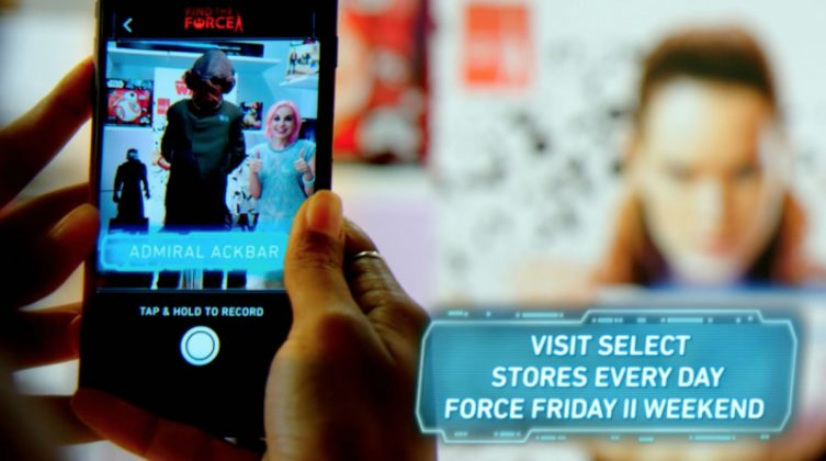 Acara Star Wars Force Friday II Pakai Teknologi AR di iOS