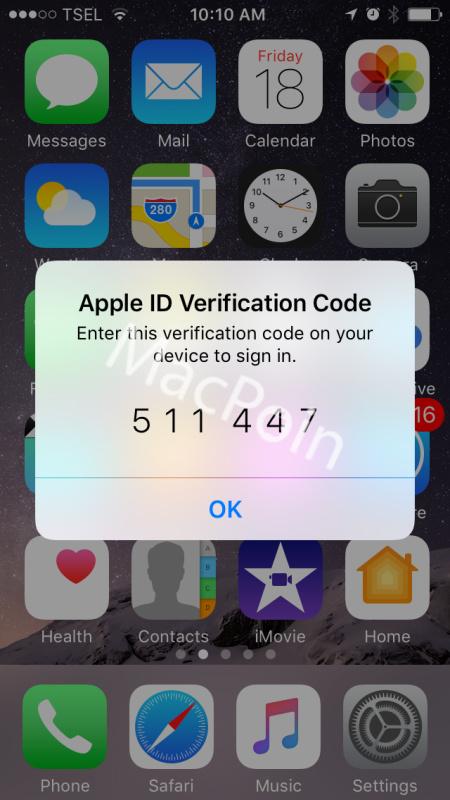 Tutorial Cara Mendapatkan Kode Verifikasi Apple ID