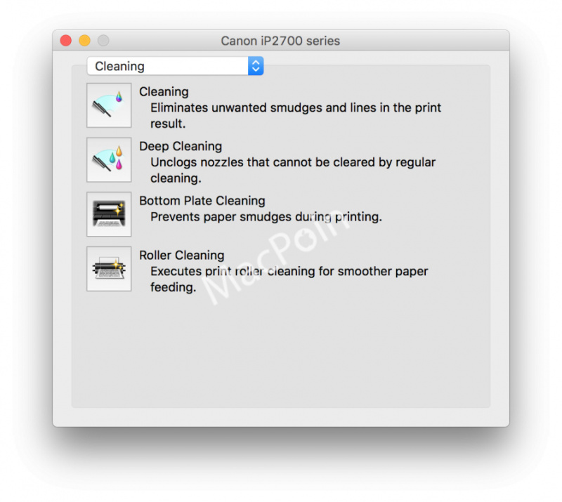 Cara Cleaning Printer Menggunakan Mac atau MacBook