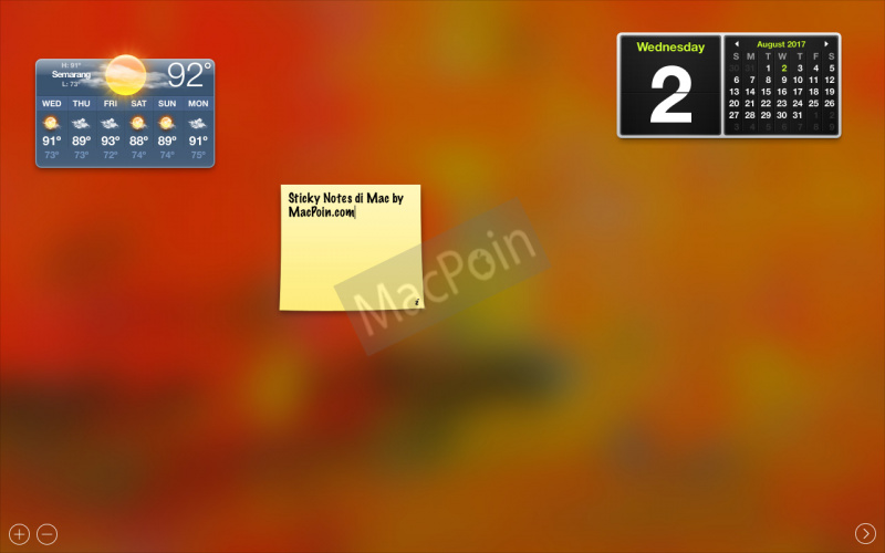 Cara Membuat Sticky Notes di Mac dan MacBook