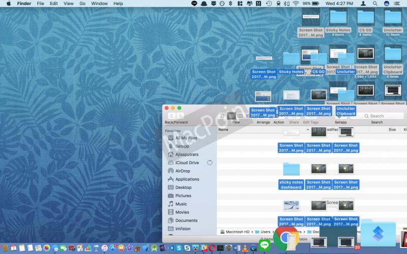 Cara Agar Desktop Mac Tidak Penuh Screenshot dan File