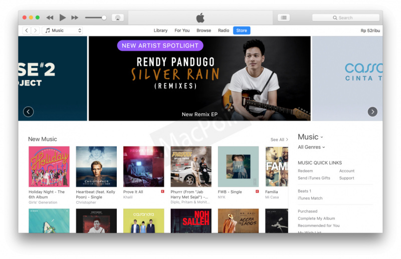 Cara Membeli Lagu di iTunes Tanpa Kartu Kredit