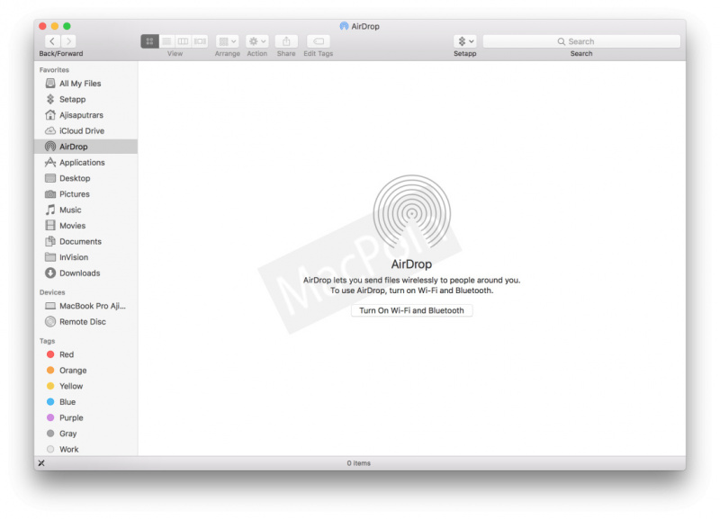 Cara Mengaktifkan AirDrop di Mac dan MacBook