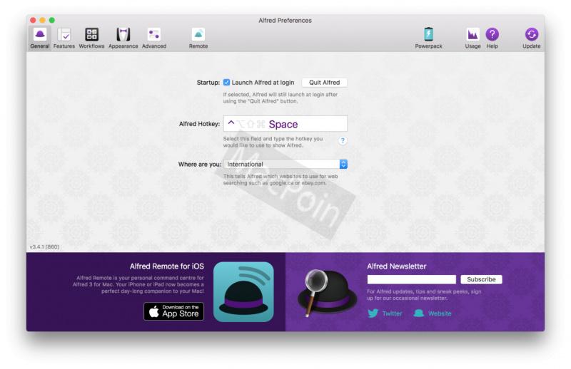 Alfred, Aplikasi Terbaik Pengganti Spotlight untuk Mac
