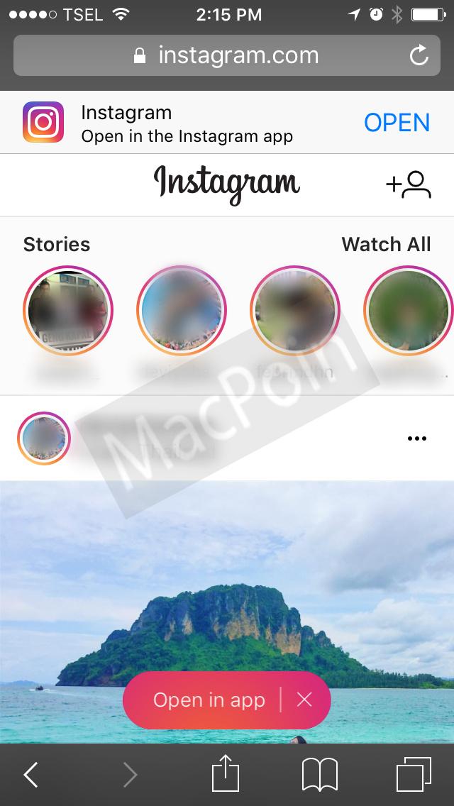 Kini Kamu Bisa Lihat Instagram Stories di Web. Caranya?