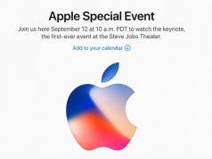 Resmi: Apple Gelar Event Spesial 12 September 2017