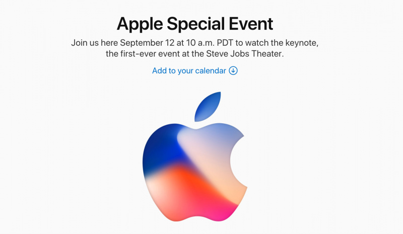Resmi: Apple Gelar Event Spesial 12 September 2017