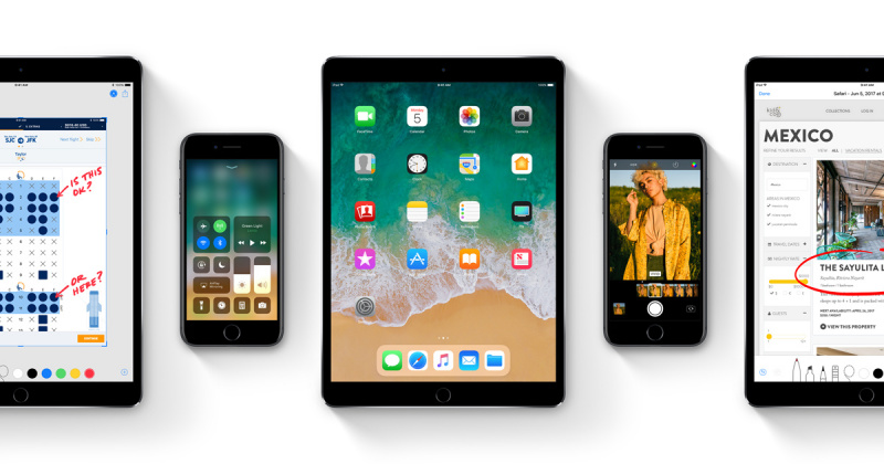 iOS 11 Developer Beta 9 dan Public Beta 8 Resmi Dirilis