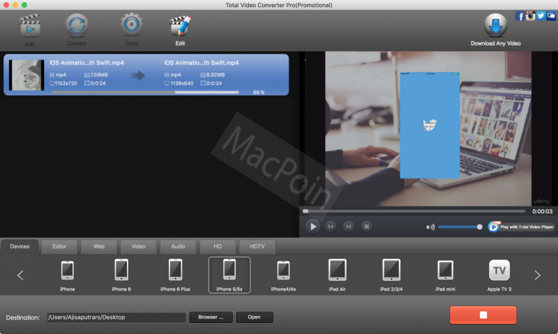 Review Total Video Converter: Cara Cepat Konversi Video di Mac