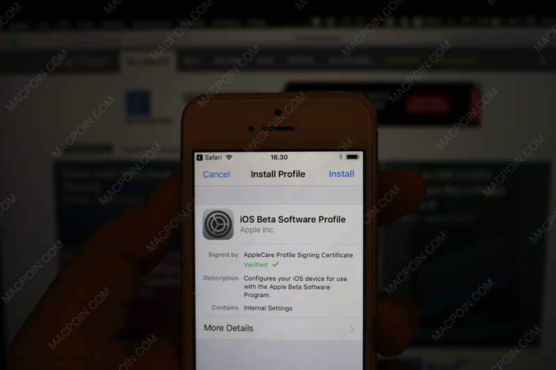 Cara Install iOS 11 Golden Master (GM) di iPhone