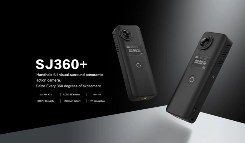 Bocoran Info Kamera SJCAM SJ8 4K dan SJ360+