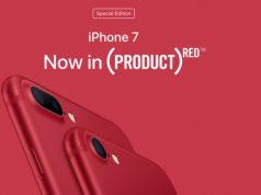 Apple Hentikan Penjualan iPhone 7 (PRODUCT)RED