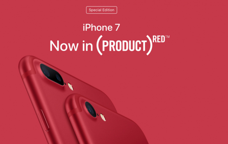 Apple Hentikan Penjualan iPhone 7 (PRODUCT)RED