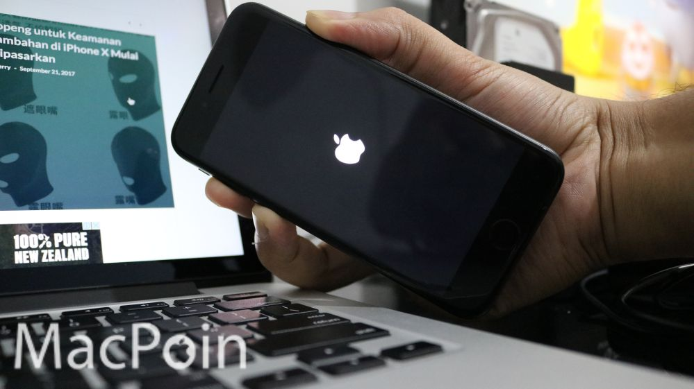 Tutorial Cara Force Restart iPhone 8 dan iPhone 8 Plus