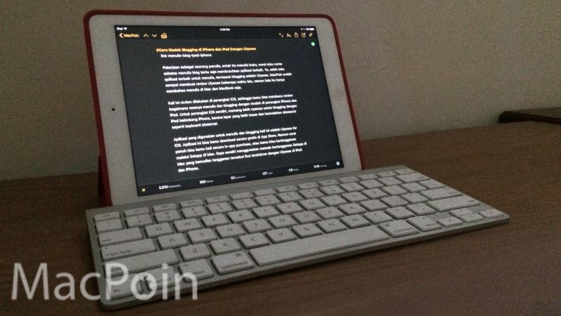 Cara Mudah Blogging di iPhone dan iPad Dengan Ulysses